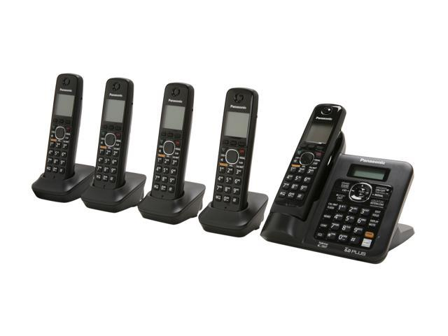 panasonic kx tg6645b cordless phones newegg com rh newegg com