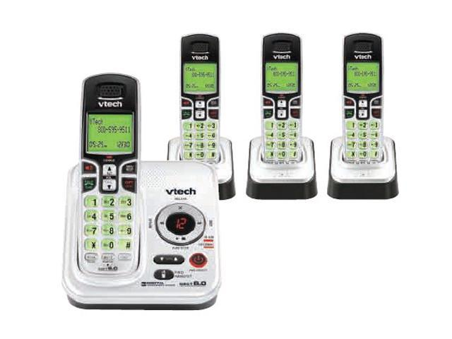vtech cs6229 4 dect 6 0 cordless phone w digital answering system rh newegg ca VTech Cordless Phone Model CS6229 VTech Cordless Phone Model CS6229