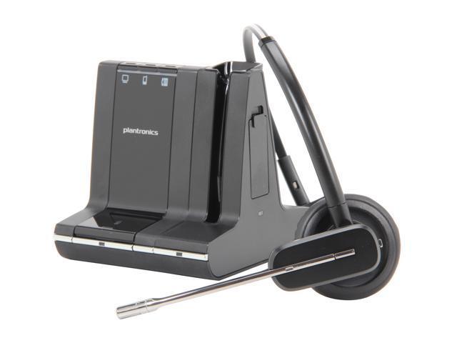 e9c6be9fe38 Plantronics Savi W745 Multi Device Wireless Headset System (86507-01)