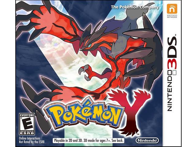 Nintendo 3ds Pokemon Games : Pokemon y nintendo ds game newegg