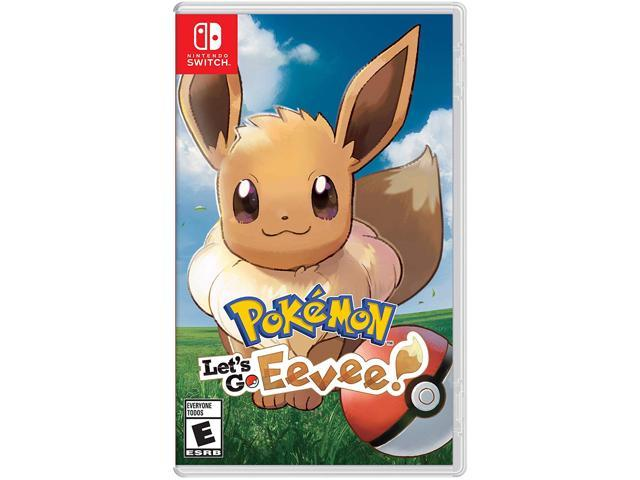 Pokemon Let S Go Eevee Nintendo Switch Newegg Com