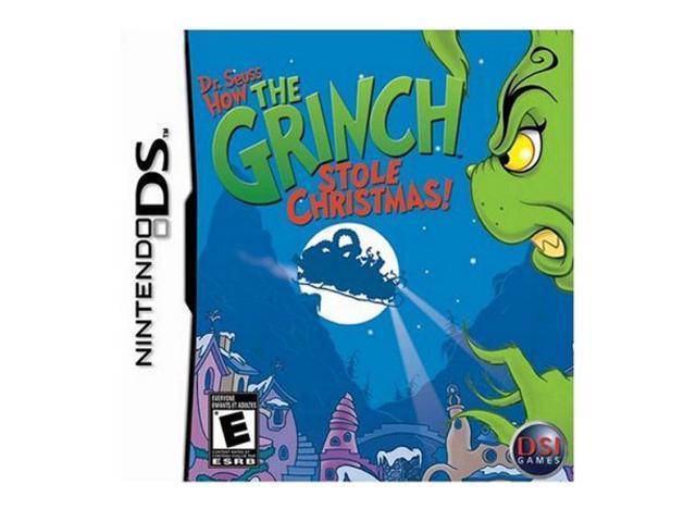 dr seuss how the grinch stole christmas nintendo ds game - How The Grinch Stole Christmas Games