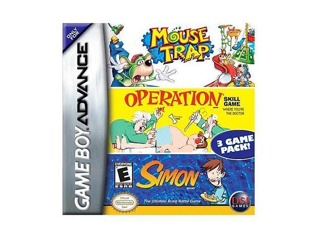 Mouse Trap/Operation/Simon GameBoy Advance Game DSI GAMES - Newegg com