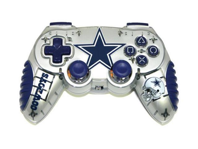 Mad Catz Officially Licensed Dallas Cowboys NFL Wireless PS2 Controller -  Newegg com