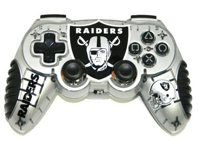 Mad Catz Officially Licensed Oakland Raiders NFL Wireless PS2 Controller -  Newegg com