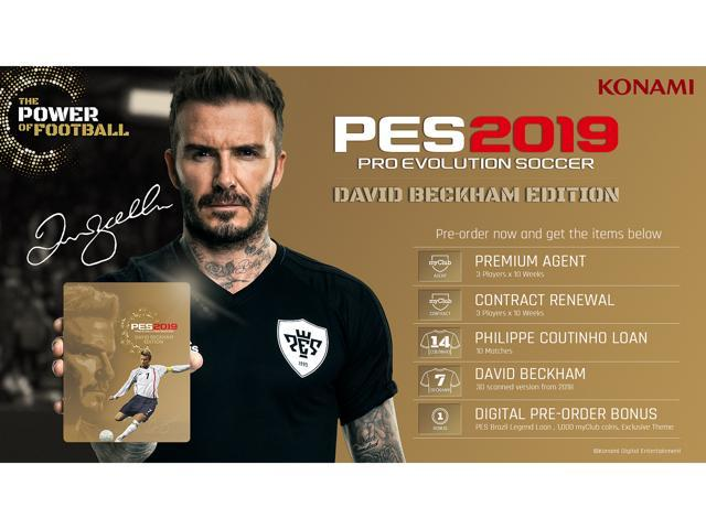 Pro Evolution Soccer 2019 David Beckham Edition - PlayStation 4 - Newegg com