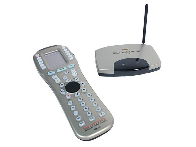Universal Remote Controls Home Theater Master Mx 600 Ir Rf Mrf