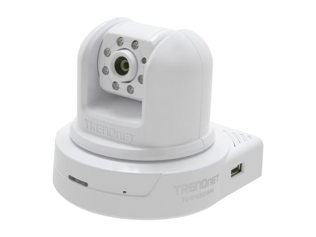 TRENDnet TV-IP422WN 640 x 480 MAX Resolution RJ45 SecurView
