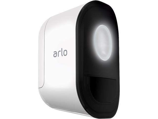 Arlo Smart Home Security Add-on Light (AL1101) Wireless, Weather Resistant,  Motion Sensor, Indoor/Outdoor, Multi-colored LED, Works with Alexa (Camera