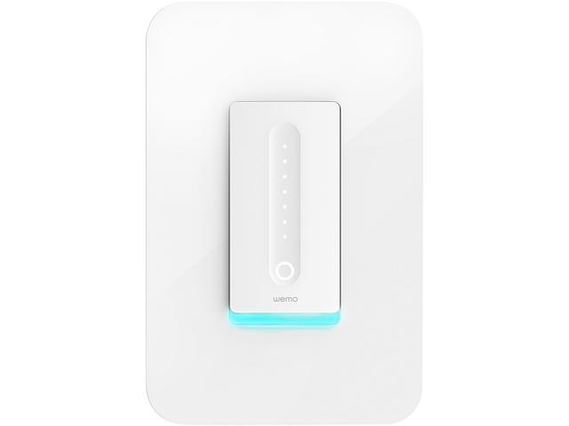 Wemo Wi-Fi Smart Dimmer Light Switch, Works with Google Home and ...