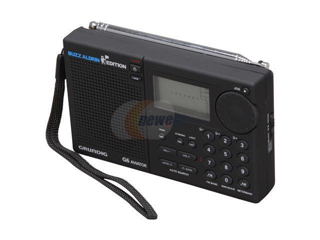 eton AM/FM/Aircraft Band, Shortwave Radio Grundig AVIATOR G6 - Black -  Newegg ca