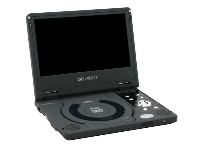 Go Video Dp8240 Portable Dvd Player W 8 4