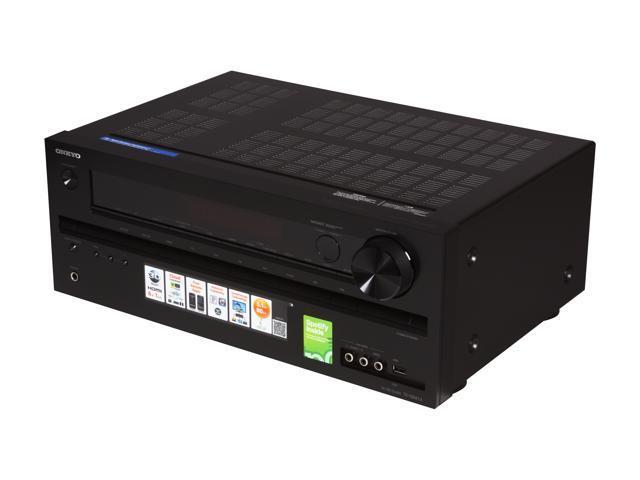 ONKYO TX-NR414 5 1-Channel 3-D Ready Network A/V Receiver - Newegg com