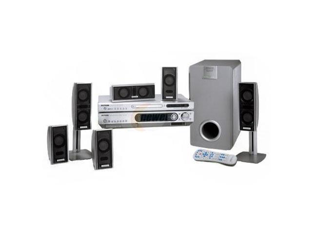 KENWOOD HTB-N810DV 6.1-CH Fineline Networked Home Theater System ...