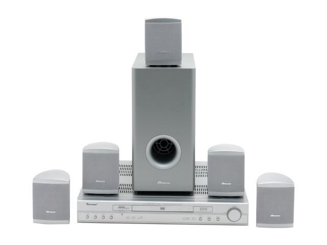 norcent dp 1950 300 watts pmpo home theater system with 5 1 rh newegg com
