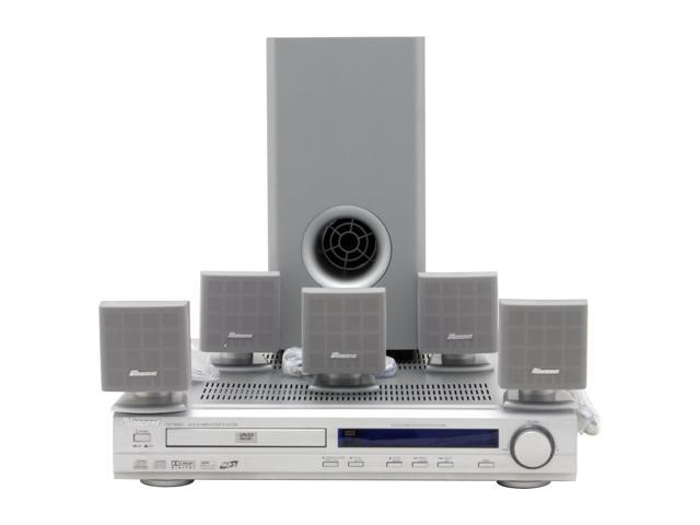 norcent dp 1800 5 1ch 150w dvd home theater system with am fm stereo rh newegg com