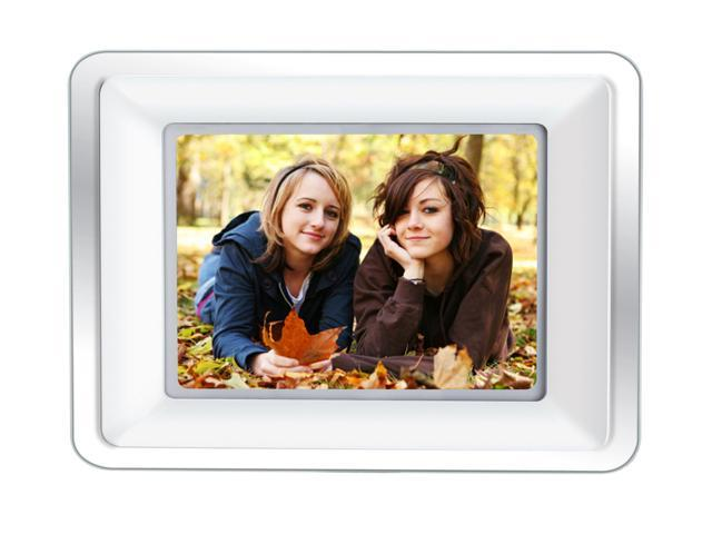 Coby Dp772 7 7 Widescreen Digital Photo Frame W Mp3 Player