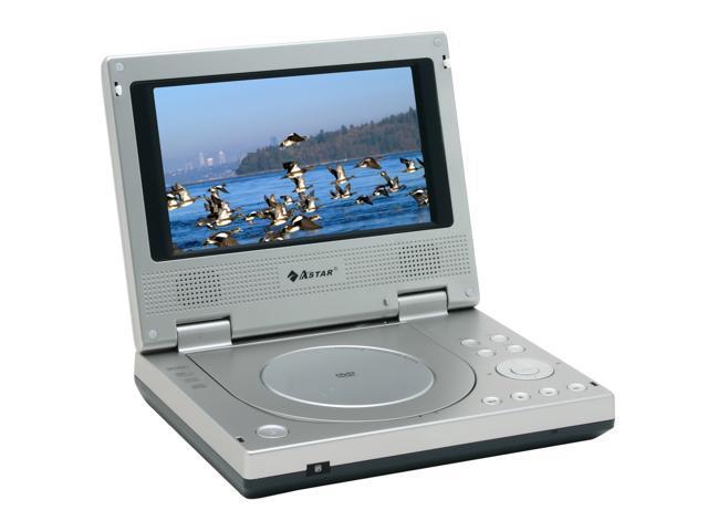 ASTAR PD 3020 Portable DVD Player W 7 169 LCD