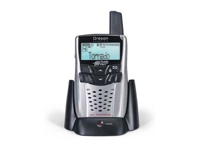 oregon scientific portable public alert radio wr602 newegg com rh newegg com