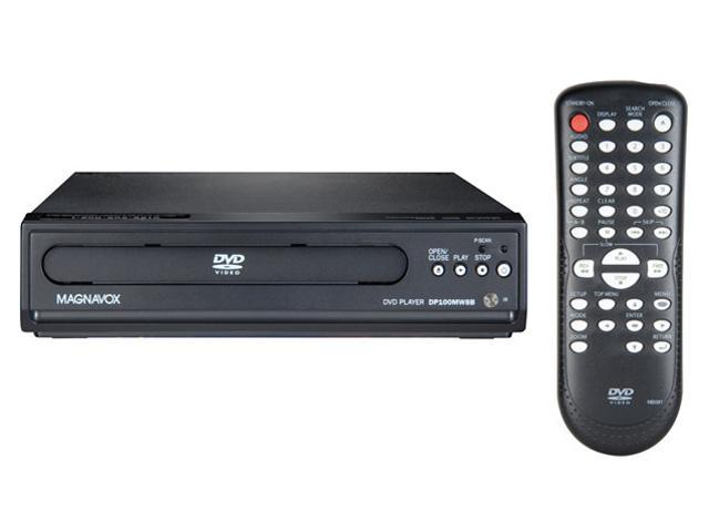 magnavox dp100mw8b compact progressive scan black dvd player rh newegg com Magnavox DVD DP100MW8B Remote Code Magnavox DVD DP100MW8B