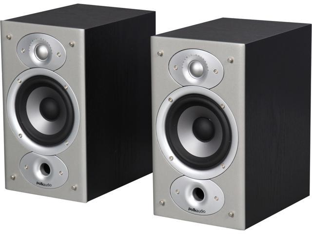 Polk Audio RTi4 Bookshelf Speaker Pair Black