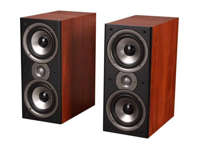 Polk Audio Monitor40 Series II Two Way Bookshelf Loudspeaker Cherry Pair