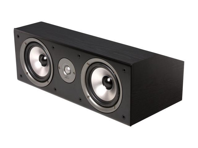 Polk Audio CS2 Series II Center Channel Speaker (Black) Single