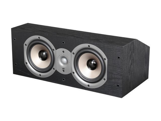 Polk Audio Monitor Series New 25C Two Way Center Channel Loudspeaker Black
