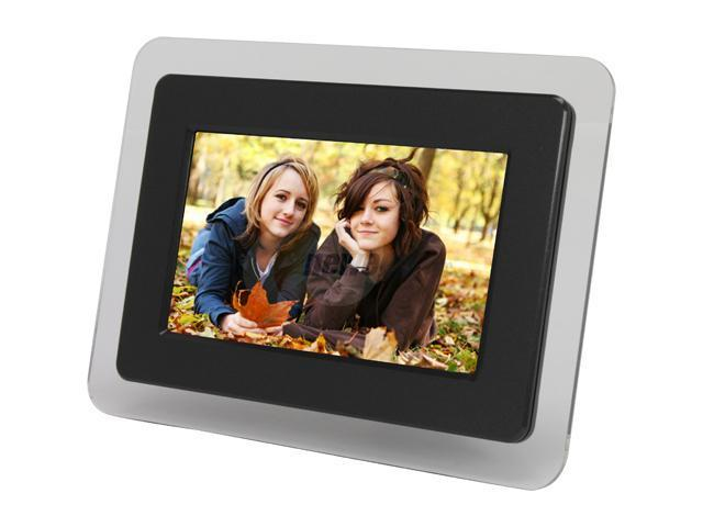 Smartparts Spdpf70e 7 7 480 X 234 Digital Photo Frame Neweggcom
