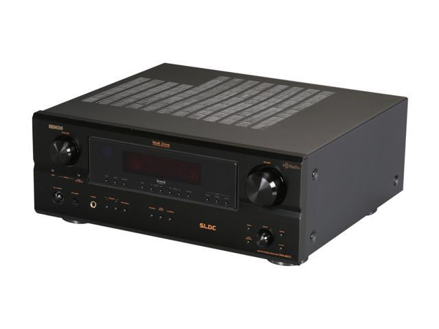 Denon DRA-697CIHD Stereo AM/FM Receiver with HD Radio - Newegg com