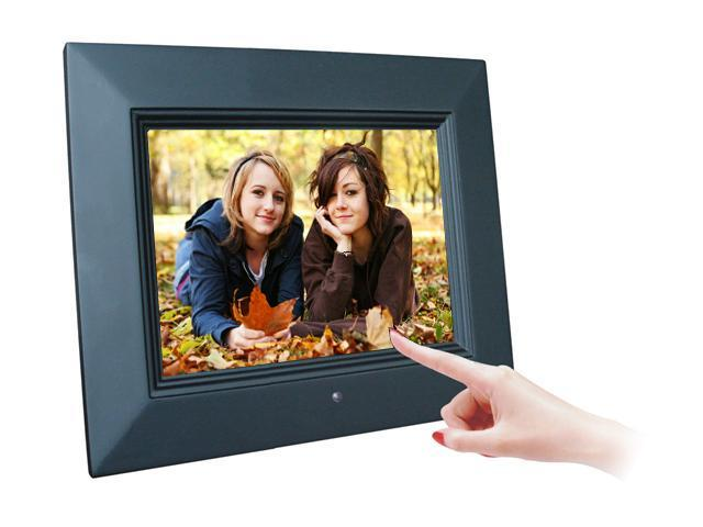 Sungale Id800wt 8 800 X 600 Touch Screen Digital Photo Frame