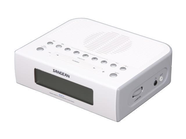 Sangean AM/FM Digital Clock Radio RCR-5 - Newegg.com on