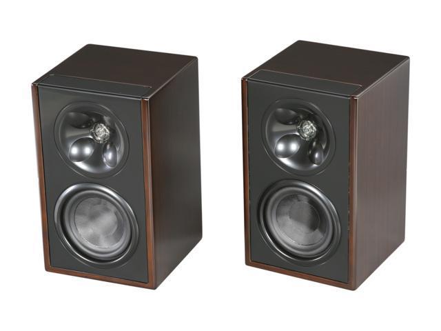 Klipsch WB 14 Icon W Series Espresso Bookshelf Surround Speaker
