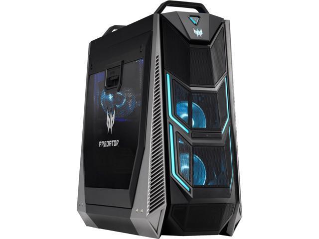 Acer Gaming Desktop Predator Orion 9000 PO9-600-8700K2080Ti Intel Core i7 8th Gen 8700K (3.70 GHz) 32 GB DDR4 2 TB HDD 256 GB SSD NVIDIA GeForce RTX 2080 Ti Windows 10 Home 64-bit