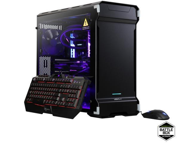 ABS Battlebox Ultimate TRipper Gaming Desktop PC NVIDIA GeForce GTX 1080 Ti  11 GB AMD RYZEN Threadripper 1950X (3 40 GHz) Liquid Cooling (240 mm) 32