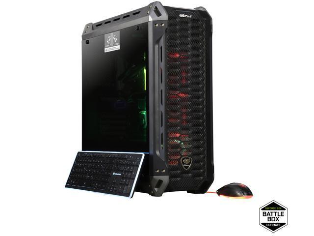 ABS Battlebox Ultimate Panzer Gaming Desktop PC NVIDIA GeForce GTX 1080 Ti  Intel i7-8700K (3 7 GHz) Liquid Cooling (240 mm) 16 GB DDR4 3200 512 GB SSD
