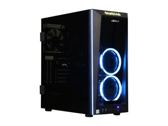 ABS Fort Gaming Desktop PC NVIDIA GeForce GTX 1080 8 GB Intel Core i7-8700 (3.20 GHz) 6-Core 16 GB DDR4 240 GB SSD 1 TB HDD Windows 10 Home 64-Bit ALI250