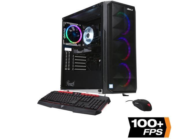ABS Desktop (Hex i7-8700/ 32GB/ 1TB HDD & 512GB SSD/ 6GB Video)