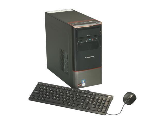 Lenovo Desktop PC 30991PU A6-Series APU A6-3600 (2.10 GHz) 6 GB DDR3 500 GB HDD AMD Radeon HD 6530D Windows 7 Home Premium 64-Bit
