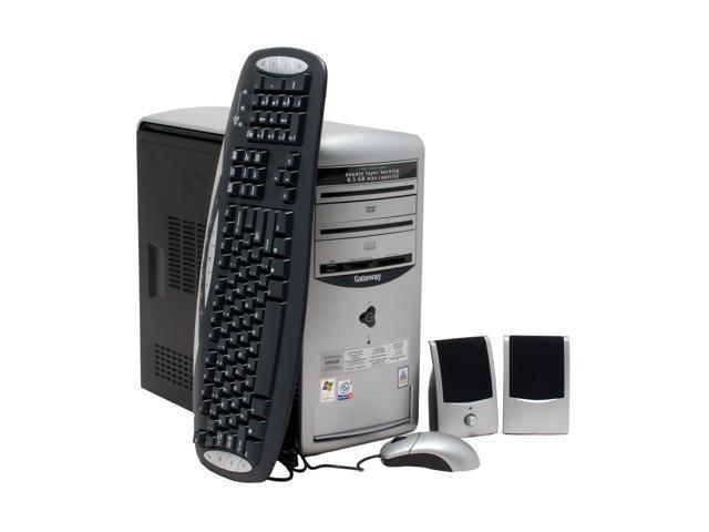 Gateway Desktop PC 506GR Pentium 4 3 2 GHz 1 GB DDR 200 GB HDD Intel GMA  900 Windows XP Home - Newegg com
