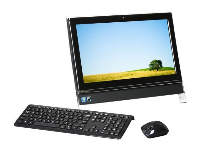 Gateway All-in-One PC One ZX4300-31 Athlon II X2 240e (2 80 GHz) 4 GB DDR3  320 GB HDD 20