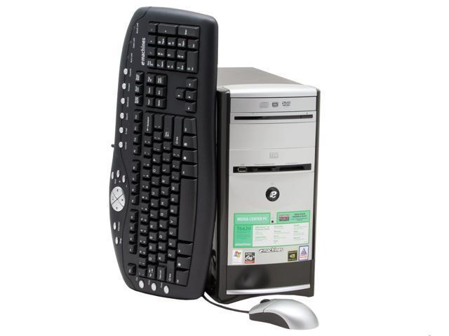 emachines desktop pc t6420 athlon 3400 1 gb ddr 200 gb hdd nvidia rh newegg com eMachines Owner's Manual Desktop eMachines T-Series