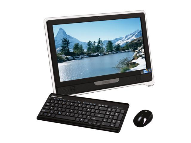 Msi All In One Pc Wind Top Ae2240 037us Intel Core I3 380m 2 53 Ghz 4 Gb Ddr3 1 Tb Hdd 21 5 Touchscreen Windows 7 Home Premium 64 Bit Newegg Com