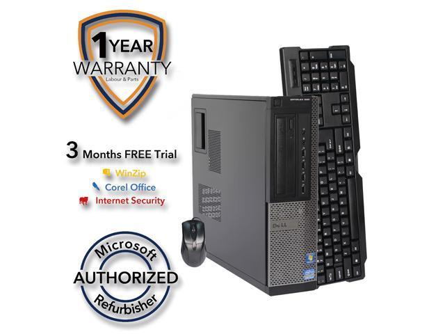 Refurbished: DELL Desktop Computer 990 Intel Core i5 2400 (3 10 GHz) 8 GB  DDR3 320 GB HDD Windows 7 Professional 64-bit - Newegg com