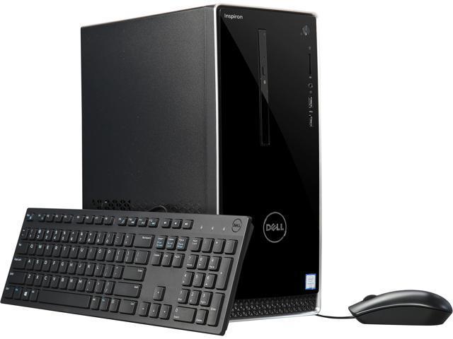 DELL Desktop Computer Inspiron 3650 i3650-1551SLV Intel Core i3 6th Gen  6100 (3 70 GHz) 8 GB DDR3L 1 TB HDD Windows 10 Home 64-Bit - Newegg com