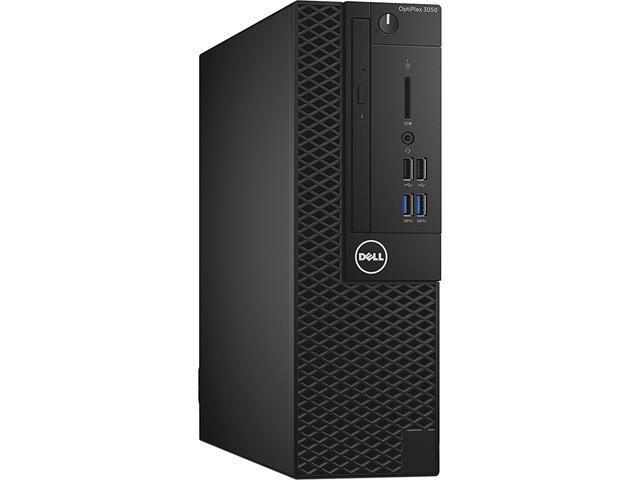 DELL Desktop Computer OptiPlex 3050 (99K5T) Intel Core i5 7th Gen 7500 (3.40 GHz) 8 GB DDR4 256 GB SSD Intel HD Graphics 630 Windows 10 Pro 64-Bit