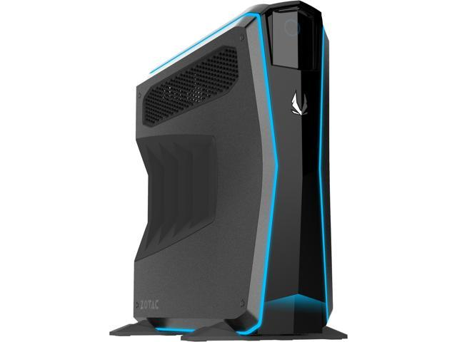 ZOTAC GAMING MEK1 GAMING PC NVIDIA GeForce GTX 1070 Ti Intel Core i7-7700  (3 60 GHz) 16 GB DDR4 240 GB NVMe SSD 1 TB HDD Windows 10 SPECTRA Lighting