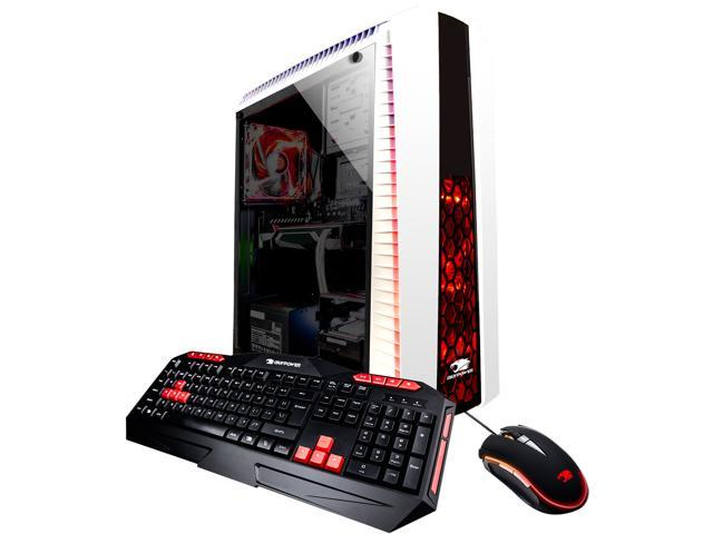 iBUYPOWER Desktop Computer N27WRX58OP1 Intel Core i7+ 8th Gen 8700 (3.20 GHz) 8 GB DDR4 2 TB HDD 16 GB Optane Memory AMD Radeon RX 580 Windows 10 Home 64-Bit
