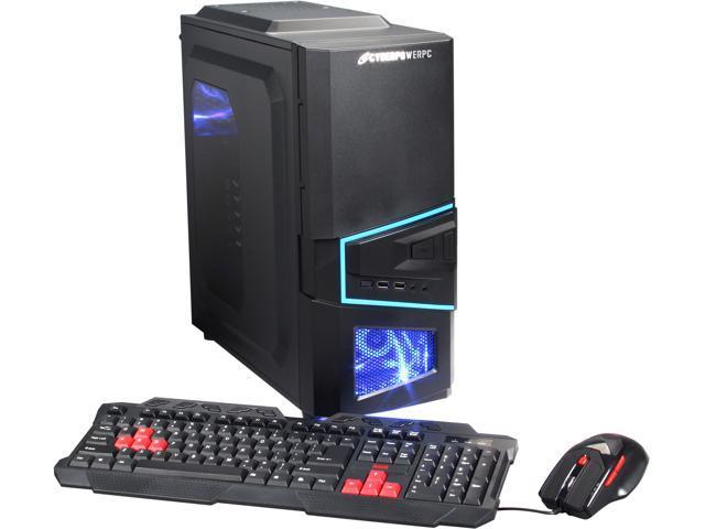 CyberpowerPC Desktop PC Gamer Ultra 2197 GU2197 FX-6300 (3 50 GHz) 4 GB  DDR3 500 GB HDD Windows 8 1 64-bit - Newegg com
