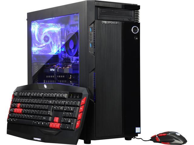 b647cdc6922 CyberpowerPC Desktop Computer Gamer Xtreme GXC780 Intel Core i7+ 8th Gen  8700 (3.20 GHz)